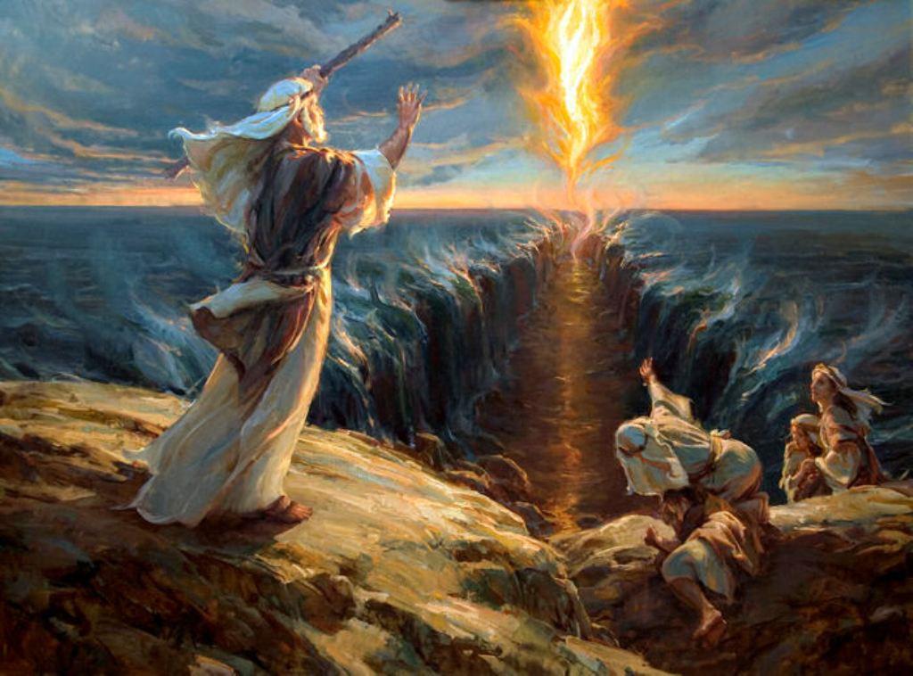 Моисей переход через Красное море