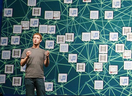 Цукерберг и теория 6 рукопожатий