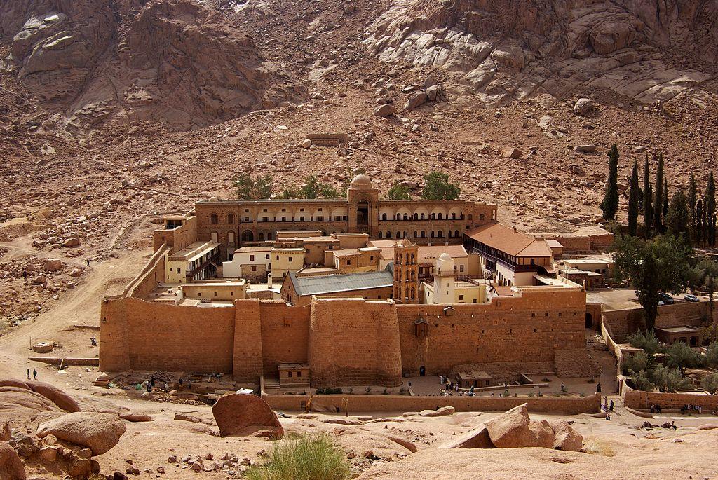 Монастырь святой Екатерины на Синае