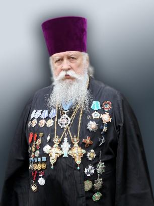 Отец Лев в орденах