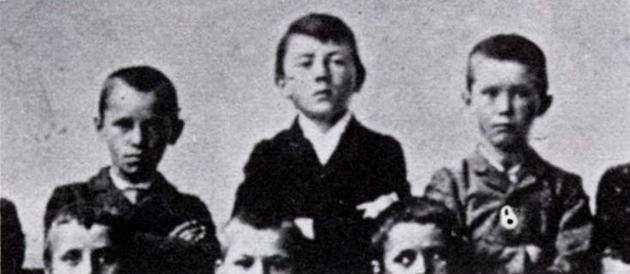 Гитлер в школе