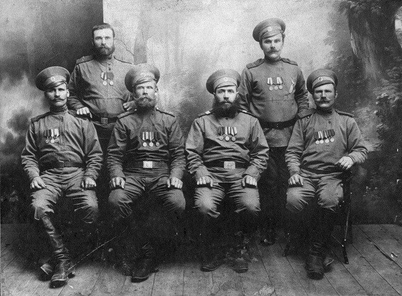 Русские солдаты Первой мировой