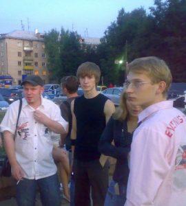 Гусев с Денисом Рыбаковым