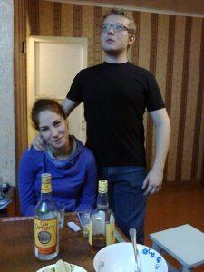 Гусев с Сашей Петрушкиной