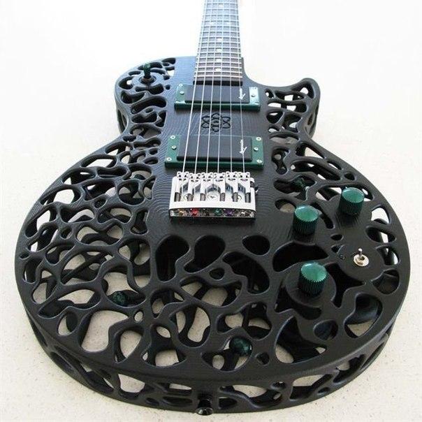 Гитара на 3D-принтере