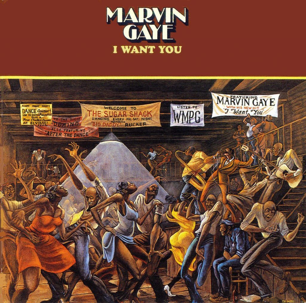 Marvin Gaye - I Want You (1976)
