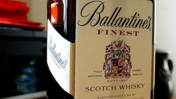 Ballantine's Finest этикетка