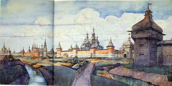 Тульский кремль XVII века