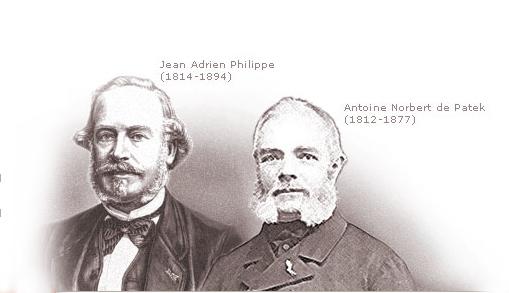 Жан Адриан Филипп и Антуан Норберт де Патек