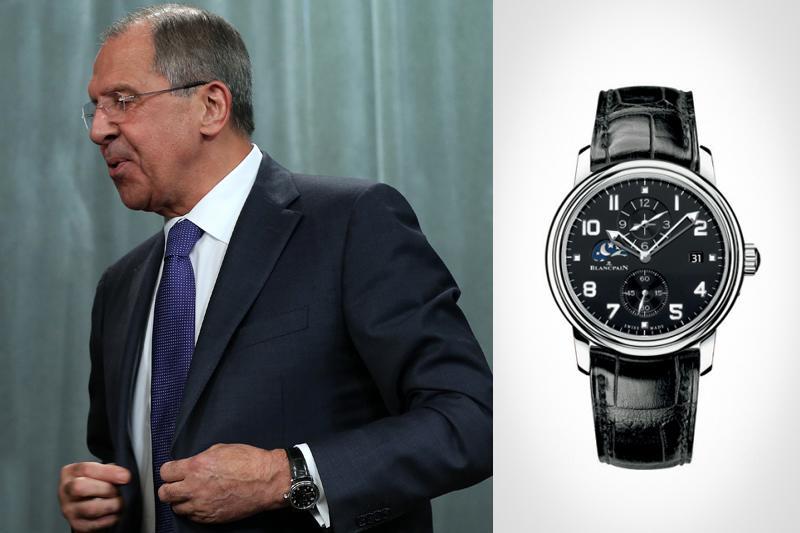 Часы Сергея Лаврова