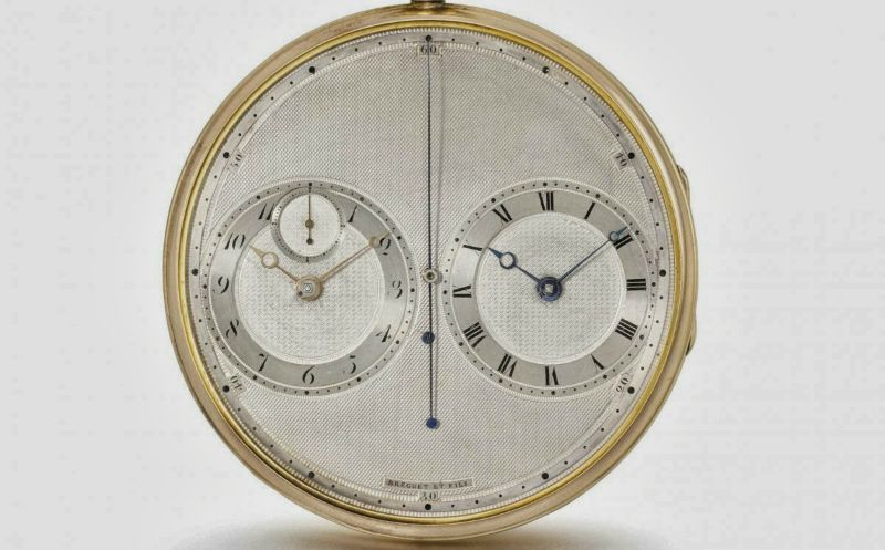 Paris Precision Stopwatch by Brequet & Fils