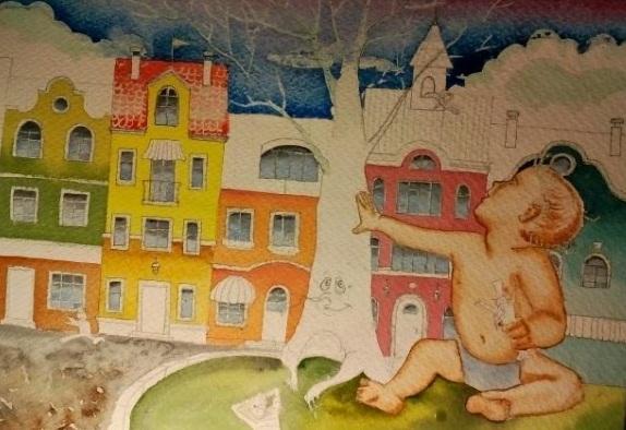 Иллюстрация сказки для маленьких великанов